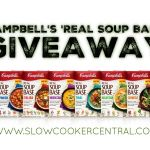 Campbell's 'Real Soup Base' GIVEAWAY
