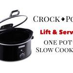 Crock-Pot Lift & Serve One Pot Slow Cooker