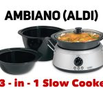 Ambiano 3-in-1 Slow Cooker (Aldi)