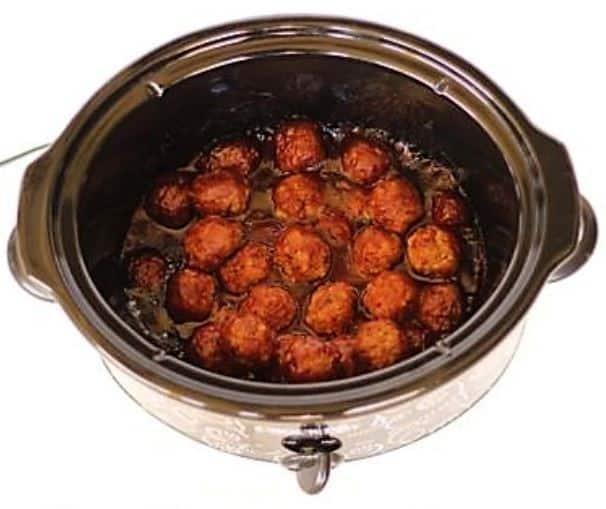 barbecue ranch meatball recipe