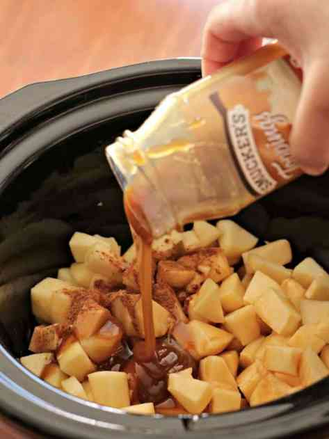 caramel apple pie dip