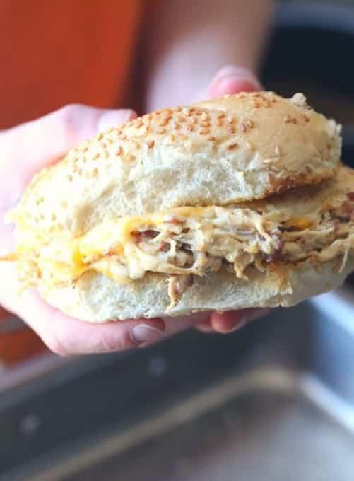 4-Ingredient Crack Chicken Sandwiches