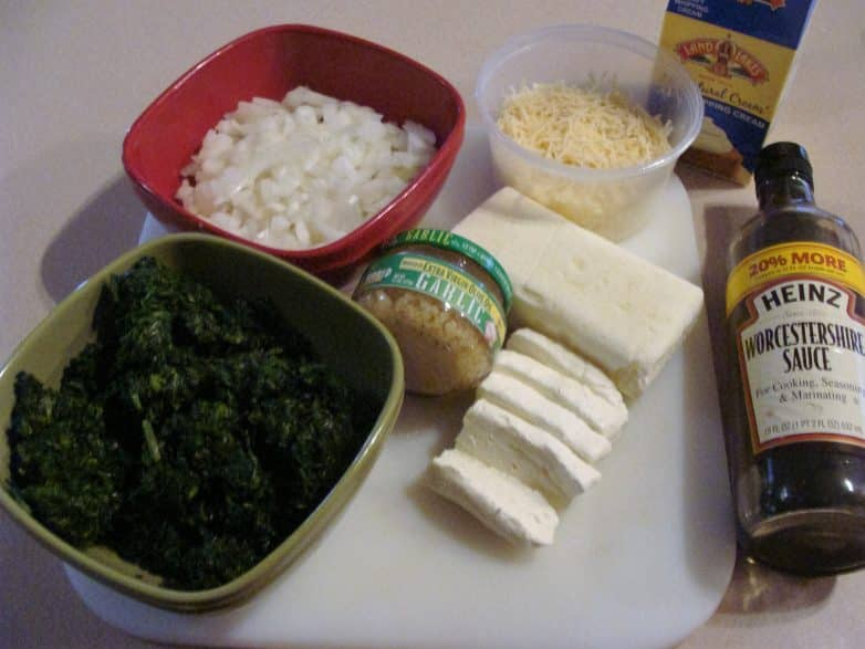 Parmesan Garlic Spinach Dip