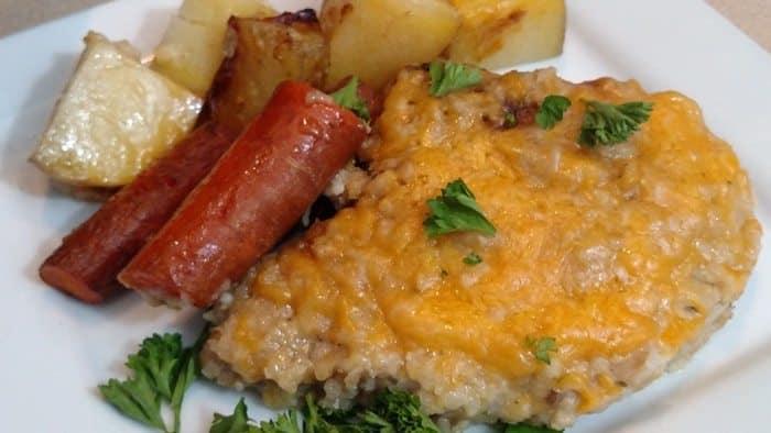 pork chop crock pot recipe