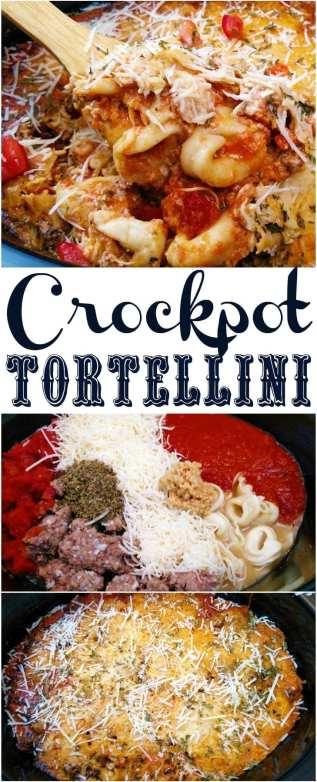 Crockpot Tortellini Casserole