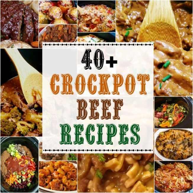Crock Pot Beef Recipes
