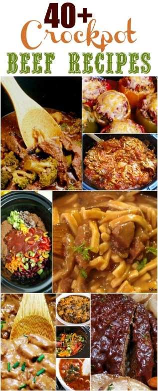 Crockpot Beef Recipes