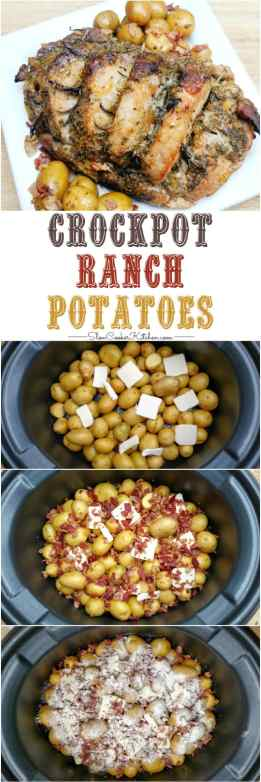 Find these easy crock pot ranch potatoes and a lot more like it @ https://www.slowcookerkitchen.com