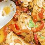 honey mustard crockpot chicken with only 5 ingredients