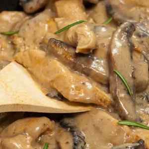 crock pot chicken stroganoff