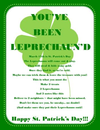 graphic about Leprechaun Feet Printable identified as Rejoice St. Patricks Working day with Leprechaun Mischief, Fortunate