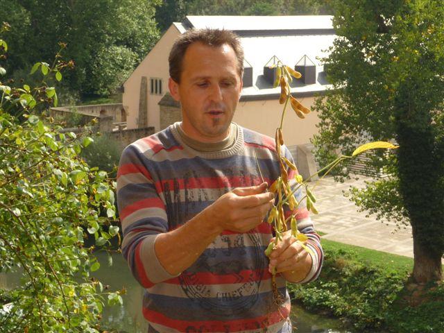 Visite guidée des jardins du couvent »Klouschtergaart » (Invitation / Einladung)