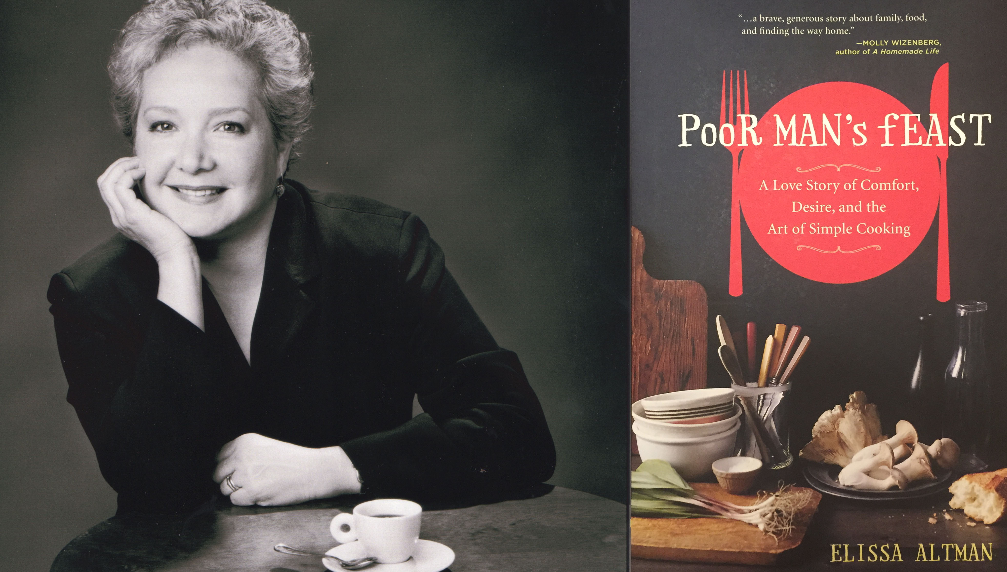 Poor Man's Feast: A Love Story of Comfort, Desire, and the Art of Simple Cooking, by Elissa Altman: Next Book Group Selection