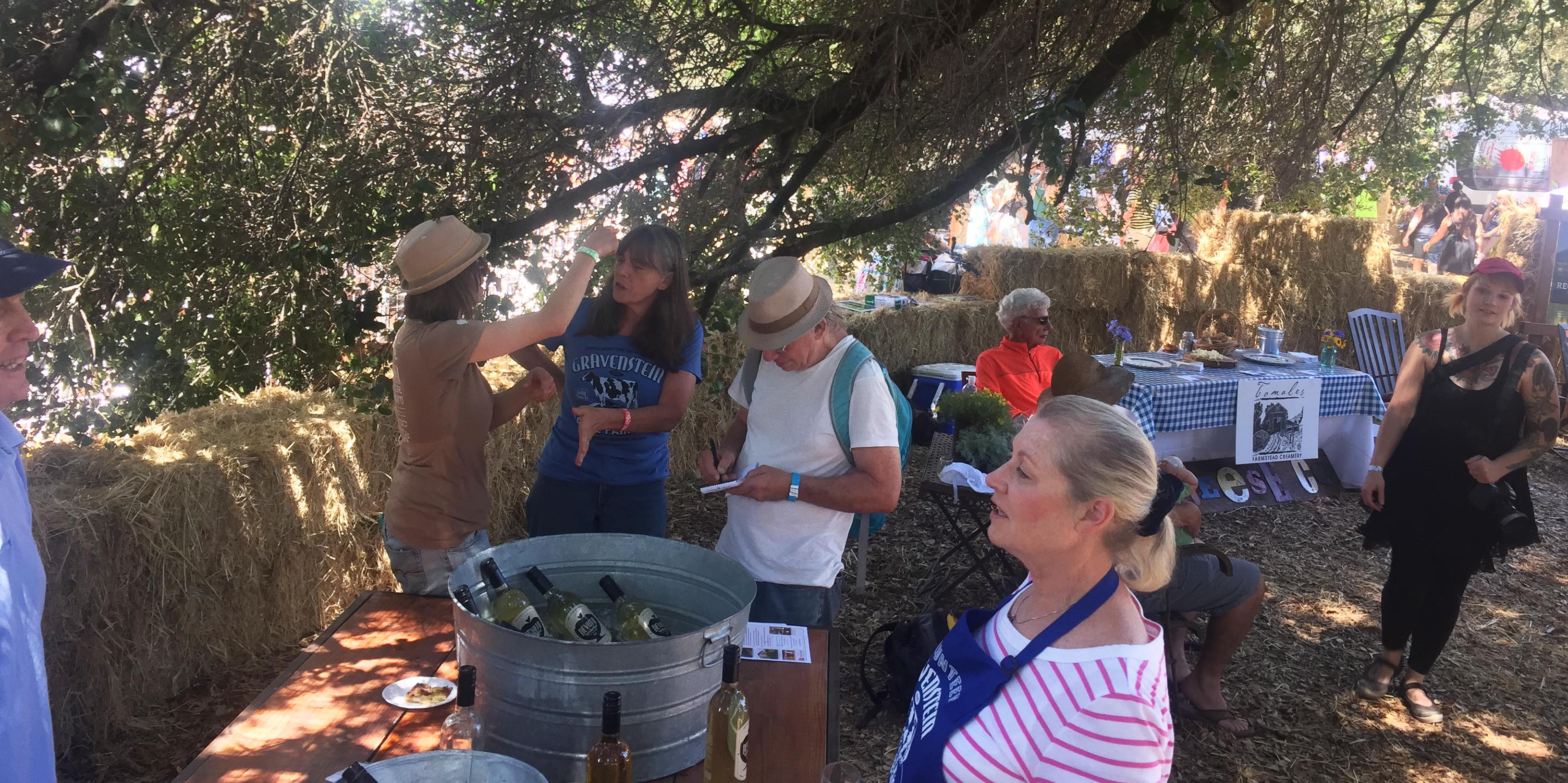 Got Cider - Artisan Tasting Lounge at the 2016 Gravenstein Apple Fair