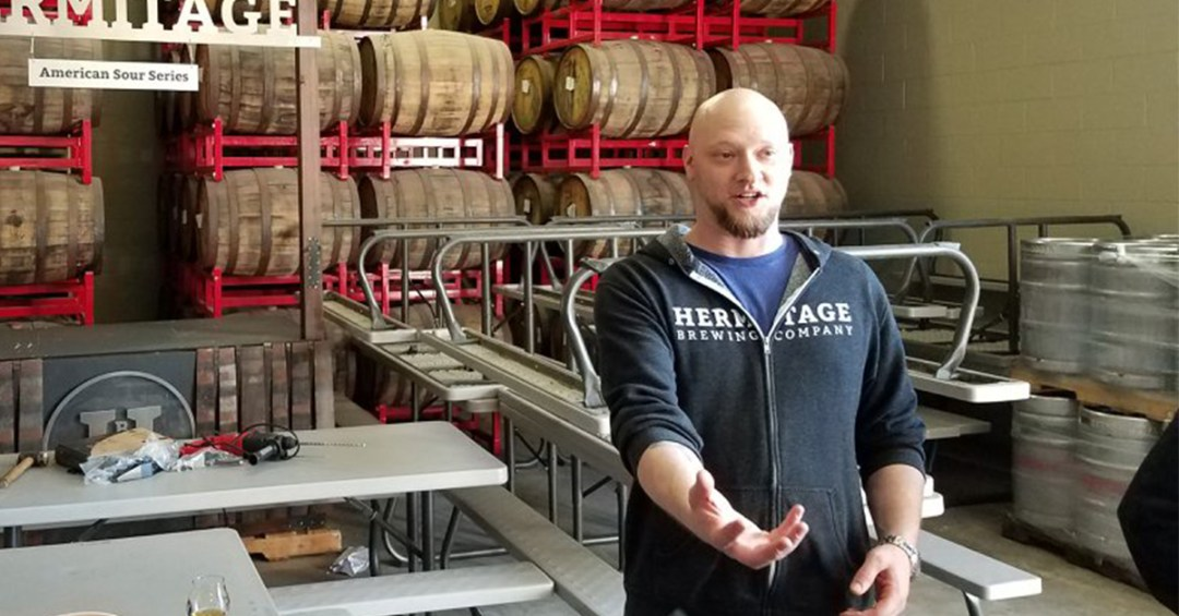 "Greg Filippi, Head Brewer & Cellarmaster, explains how the beer of Hermitage Brewing Company is ""A Retreat From the Ordinary""."