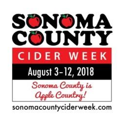 Sonoma County Cider Week 2018