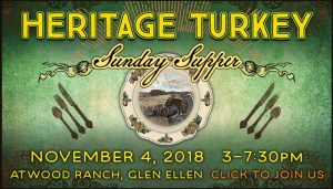 Heritage Turkey Sunday Supper