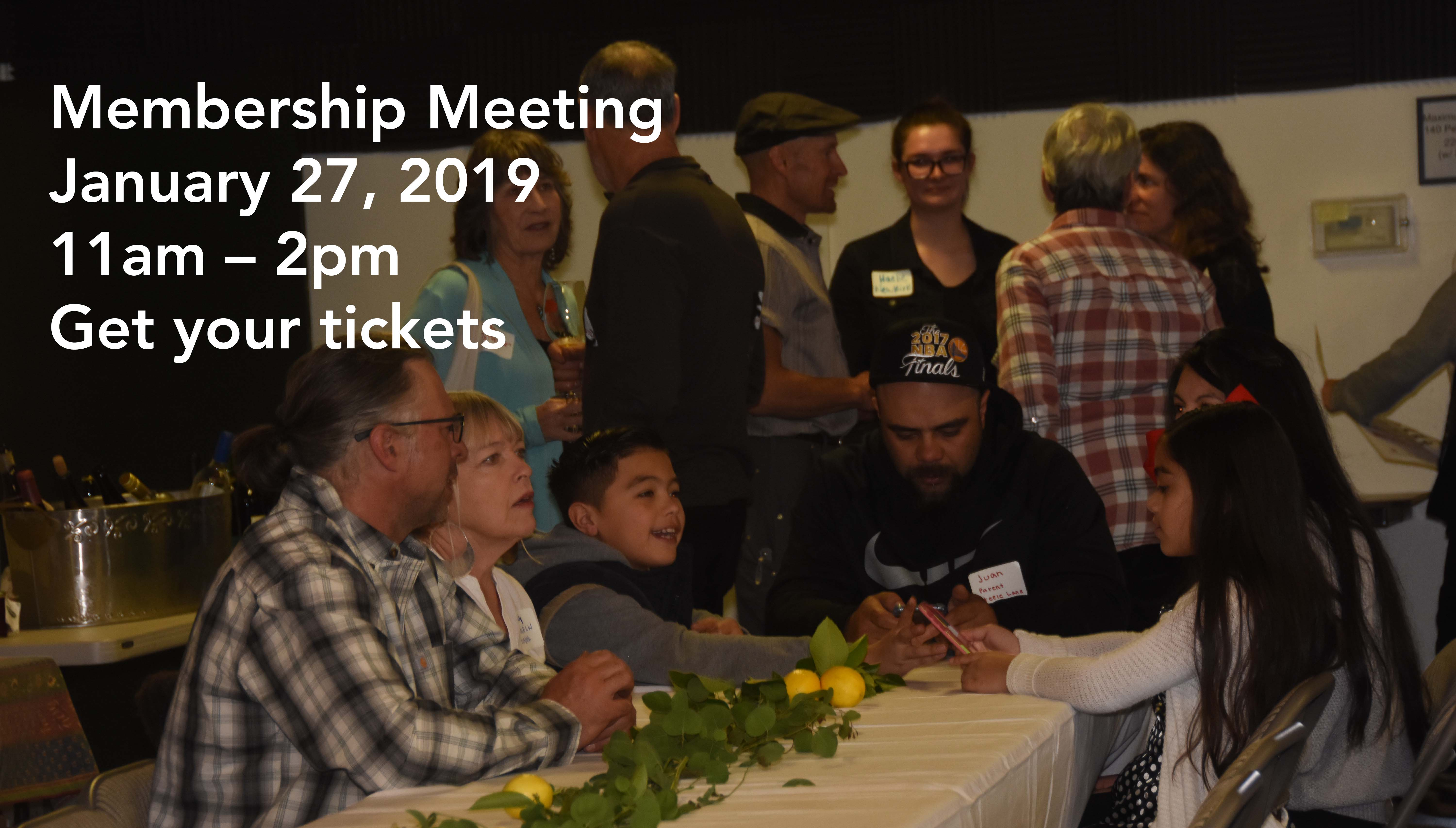 Slow Food Russian River 2019 Membership Meeting