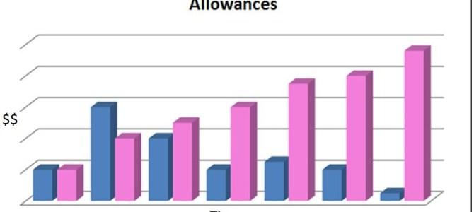 Allowances: He Said/She Said