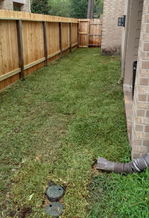 No more deck, just more grass to mow.