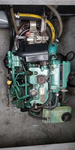 moteur bâbord