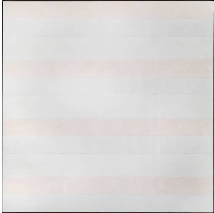 Untitled #5 1994 Agnes Martin 1912-2004 ARTIST ROOMS  Acquired jointly with the National Galleries of Scotland through The d'Offay Donation with assistance from the National Heritage Memorial Fund and the Art Fund 2008 http://www.tate.org.uk/art/work/AR00177