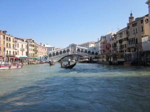 Grand Canal and Rialto Bridge