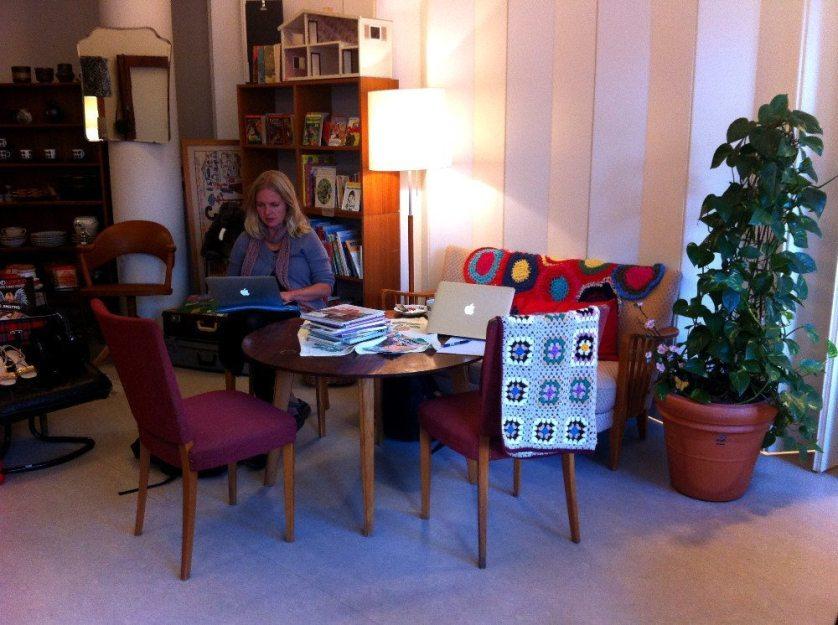 Stadsmissionens cafe i Hökarängen