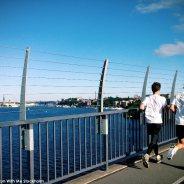 Running in Stockholm