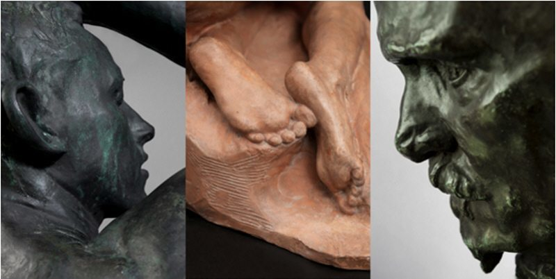 Cropped - Sculptures by Auguste Rodin