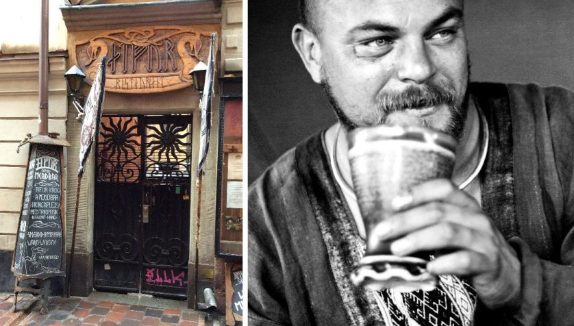 Photo on right courtesy of Aifur Krog & Bar