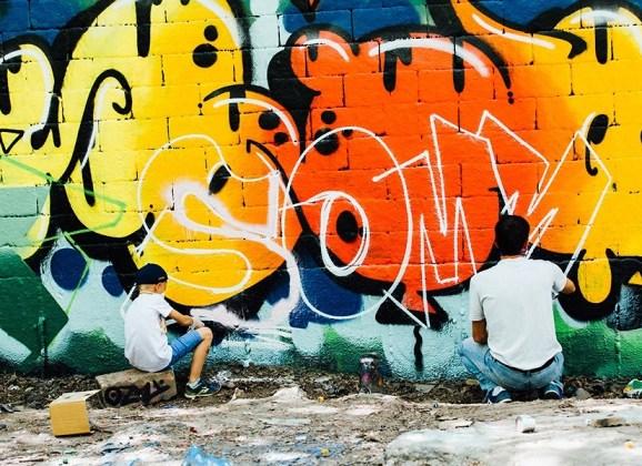 Street Graffiti Art in Stockholm