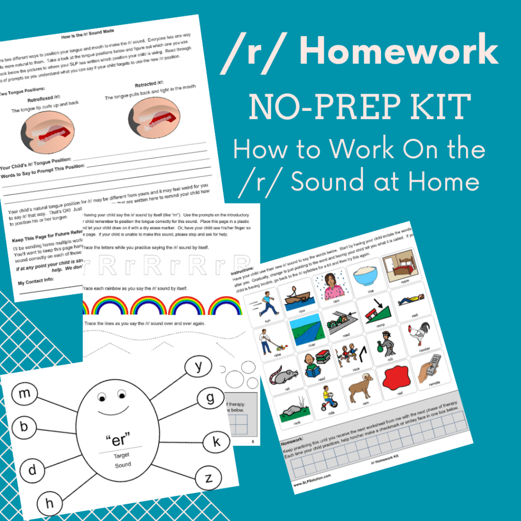 R Homework How To Work On The R Sound At Home No