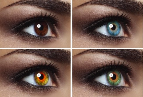 change eye color naturally