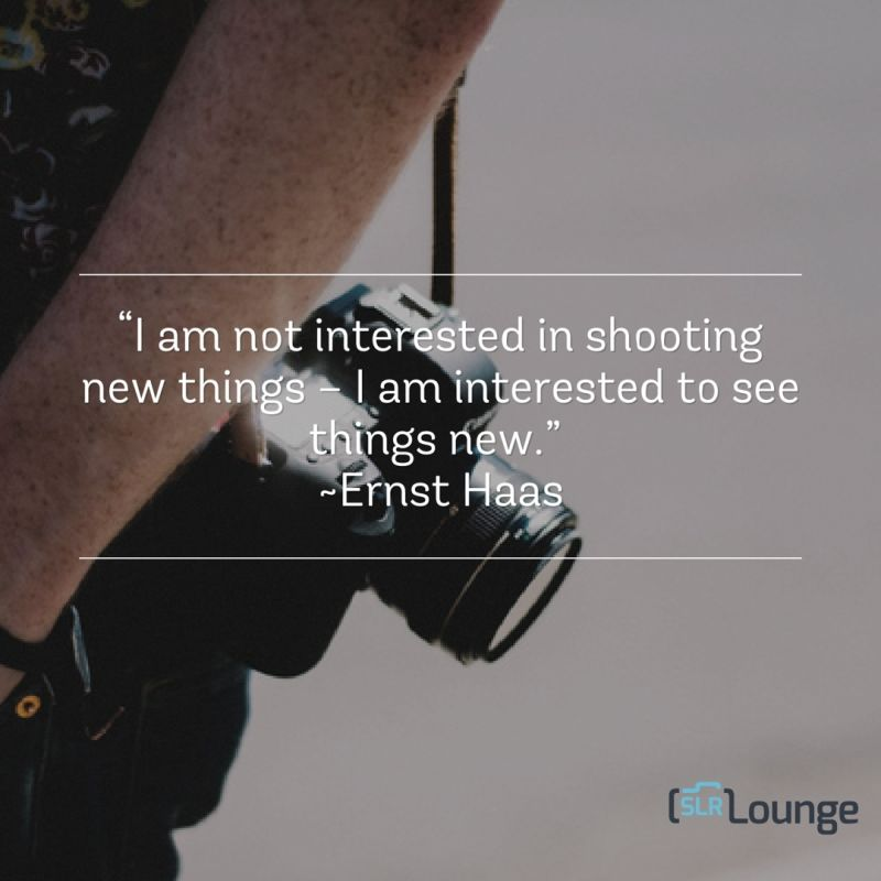 15 Quotes About Photography to Inspire   Motivate You ernst haas quotes about photography slrlounge 2