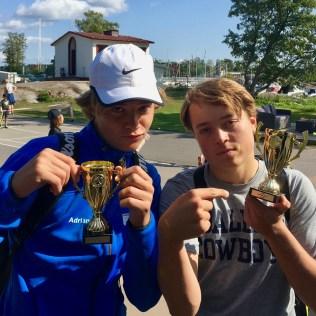 2:a plats i HD till Adrian Olsson och Sebastian Ståhl