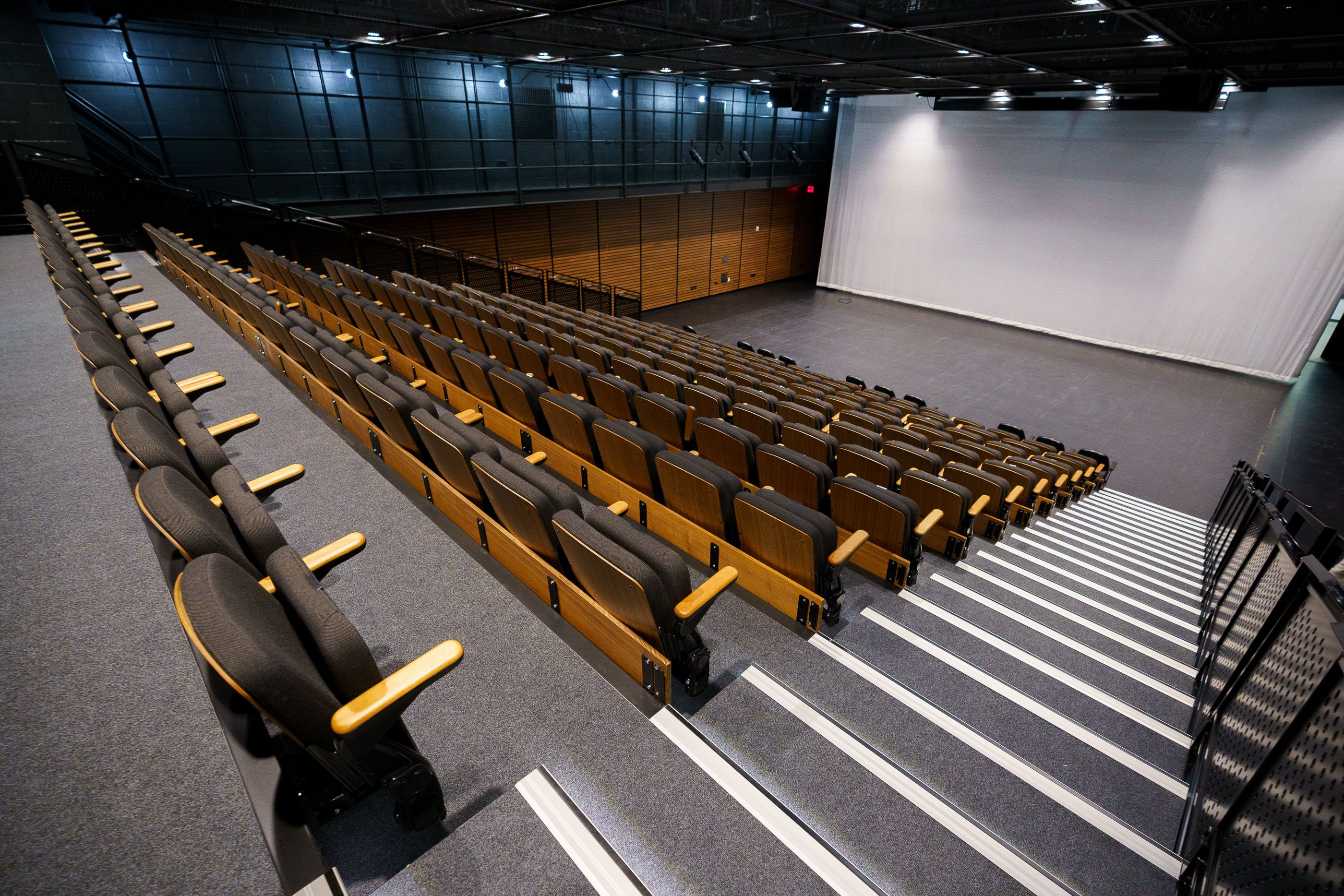 (Trent Nelson  |  The Salt Lake Tribune) The Studio 5400 Theater at the new Mid-Valley Performing Arts Center in Taylorsville on Friday, May 21, 2021.