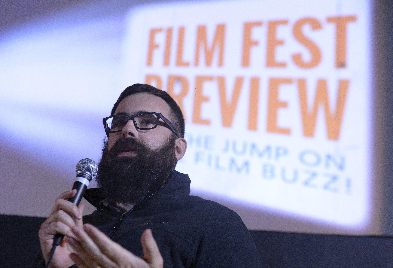 (Leah Hogsten  |  Salt Lake Tribune file photo) Filmmaker Jared Hess speaks in 2015 at Salt Lake City Tower Theatre.
