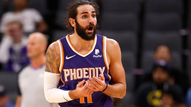 Ricky Rubio bringing his personality to surprising Phoenix team - The Salt  Lake Tribune