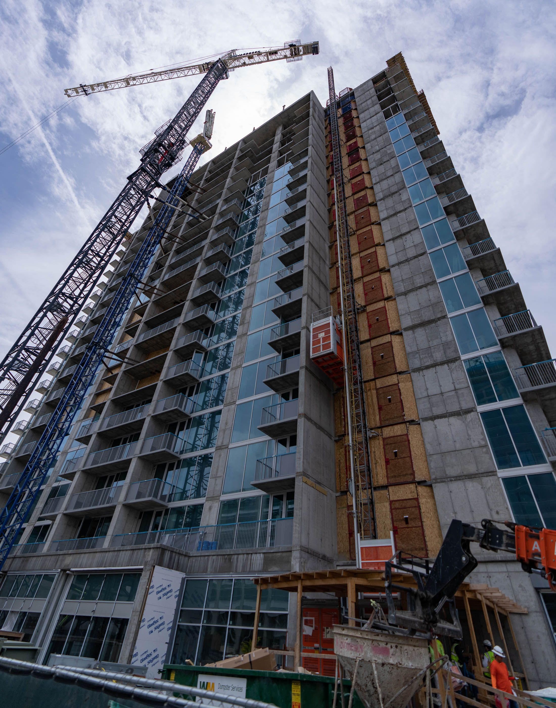 (Francisco Kjolseth     The Salt Lake Tribune) Liberty Sky will offer 272 residential units featuring studio, one- and two-bedroom apartments.