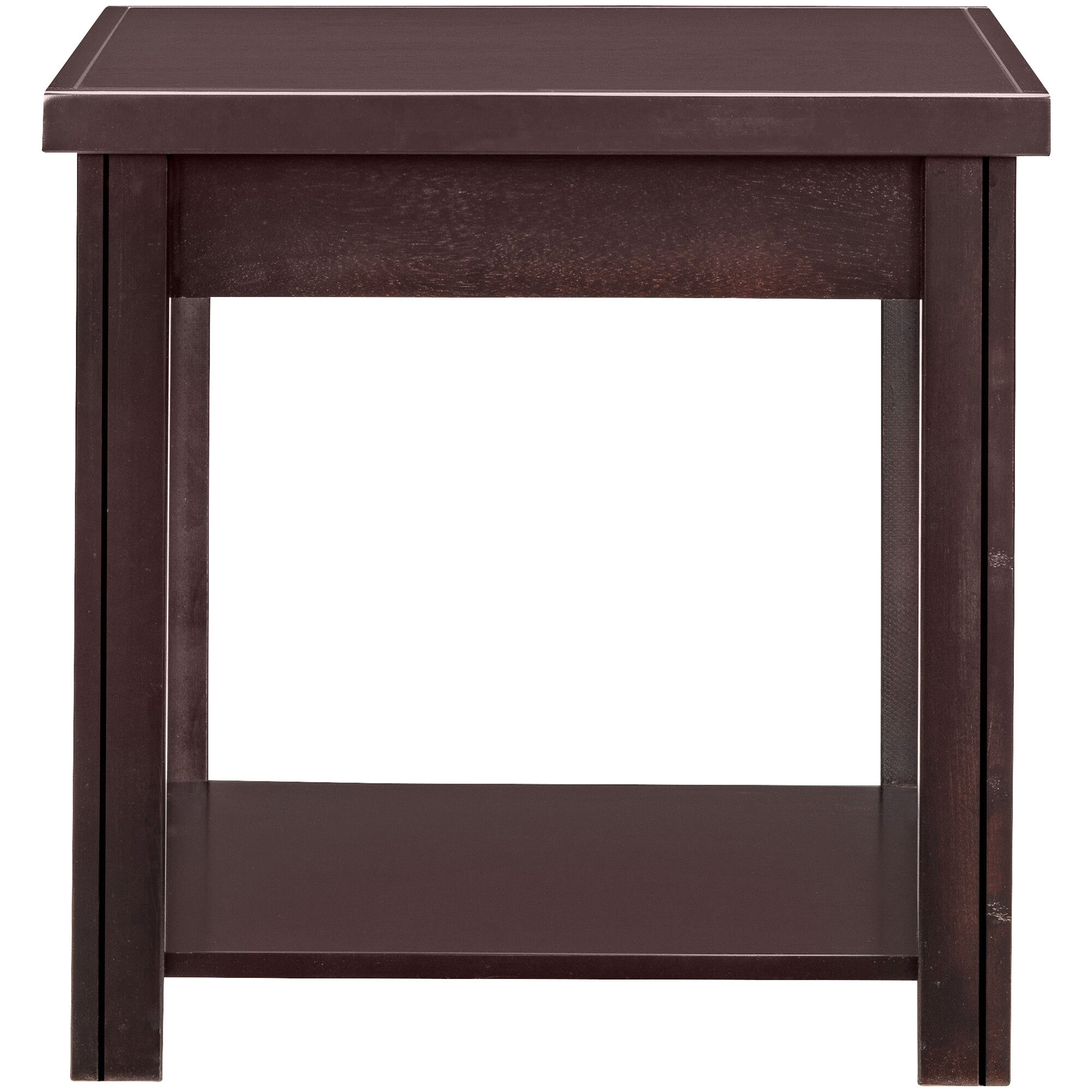 Slumberland Furniture Lockwood Mocha End Table