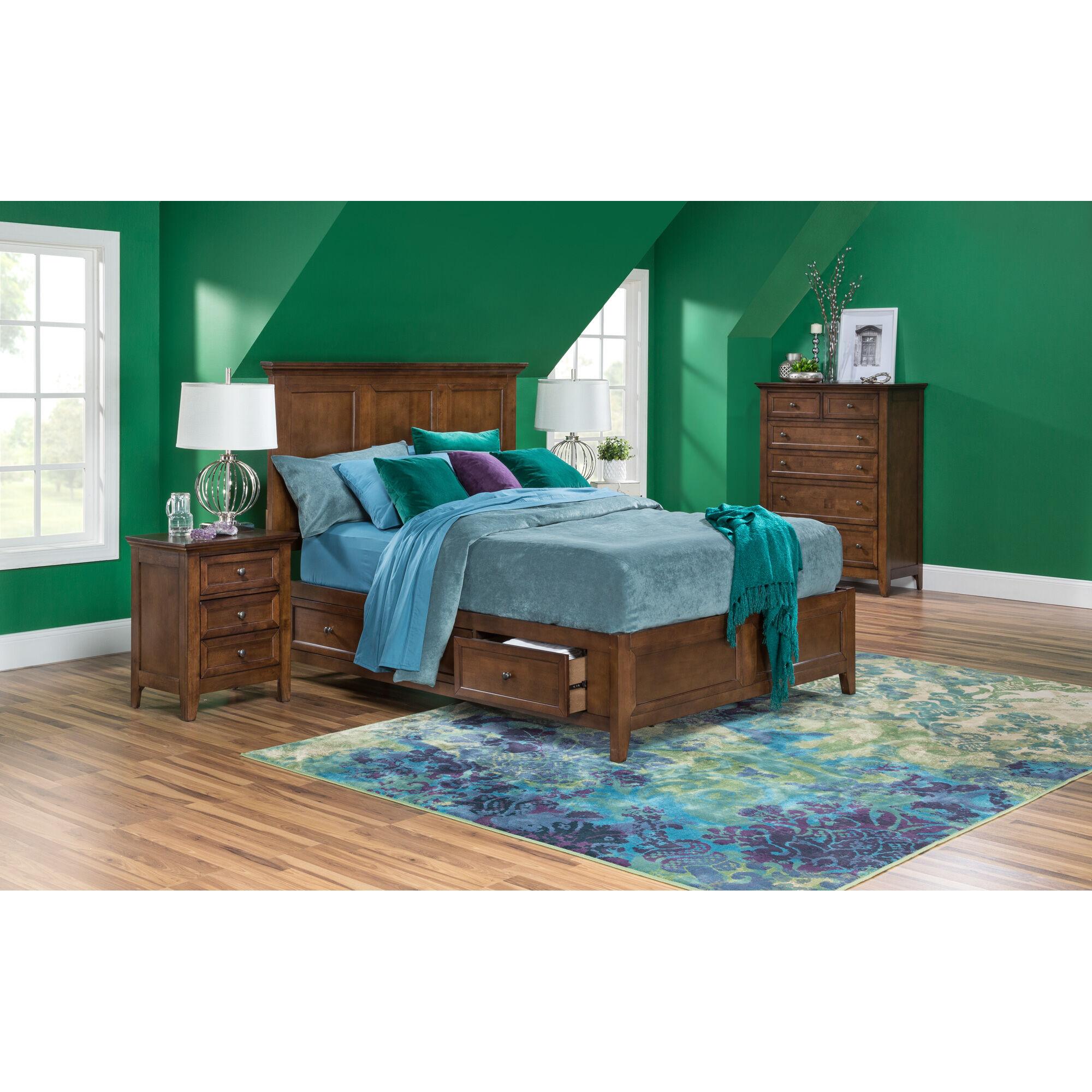 Slumberland Furniture San Mateo Queen Storage Bed