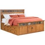 Sante Fe Panel Captains Bed Bedrooms Slumberland