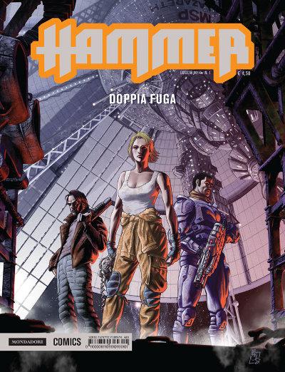 Hammer - Fumetto di fantascienza italiano edito da Mondadori Comics