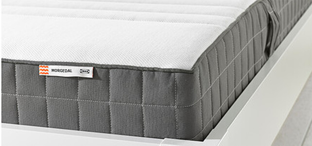 Their Most Por Memory Foam Mattress Is The Morgedal It Rated As Medium Firm Runs About 7 High Less Than Many Other Online Offerings And