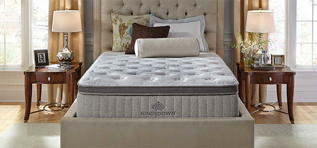 Kingsdown S Latex Line Is Curly Made Up Of The Sleep Haven Mattress Has A Quilted Top With Gel Infused Foam Non In It