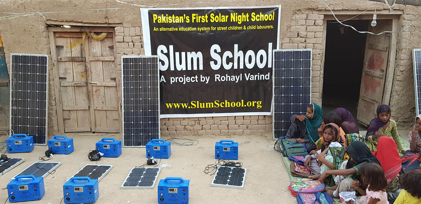 Slum School/Solar Night School by Rohayl Varind