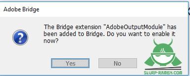Adobe Bridge Output Module