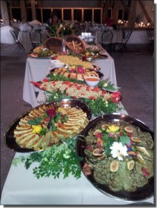 Buffet- mariage- vegan- slurps.be