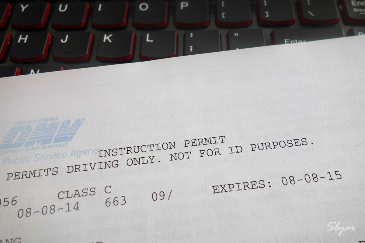 在DMV通過美國加州(CA)駕照筆試獲取Instruction Permit - Slyar Home